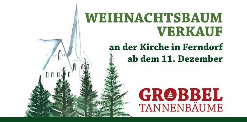 Weihnachtsbaum-Verkauf in Ferndorf